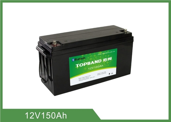 China Lithium-Batterie-Bluetooth APP-Bleisäure-Ersatz-Solarlithium-ionen-batterie 12v 150ah Bluetooth usine