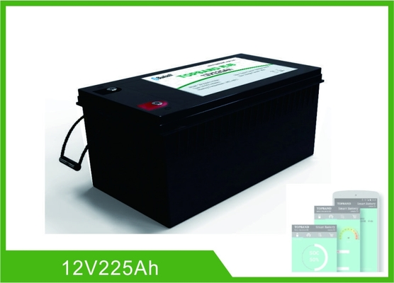 China Bluetooths 225Ah der Lithium-12v tiefes Batterie-Management-System Zyklus-Batterie-LiFePO4 usine